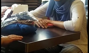 Compilation candid arabic feet coupled with footjob.