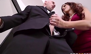 Big breasted mature fucks daughter's husband on wedding day