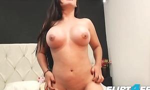 Flirt4Free Hot Cam Models Big Jugs Compilation
